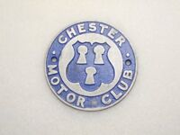 Car Badge - Chester Motor Club - flat. REDUCED IN PRICE.