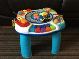 SOLD Baby/toddler activity table