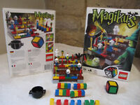 Lego Magikus (3836) ages 6 and over and for 2 to 4 players, a dice game.