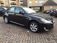 lexus is 220d 2.2 diesel , black , cream interior , part exchange welcome