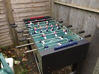 Foosball table in very good condition need to sell asap.