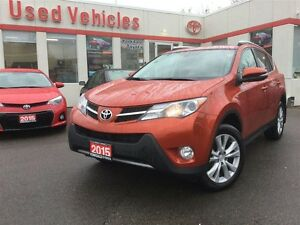 2015 Toyota RAV4 LTD, AWD, NAVI, PUSH BUTTON, S