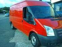FORD TRANSIT 125 T 300 FWD 63 REG RED.