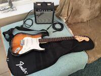 Fender junior electric guitar