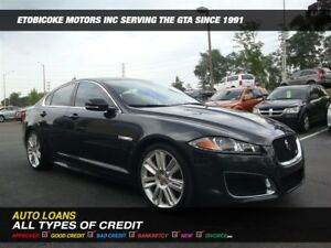 2014 Jaguar XFR XFR/WOW ONLY 48000 KM/  RED INTERIOR