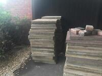 44 concrete Paving slabs 600 x 600