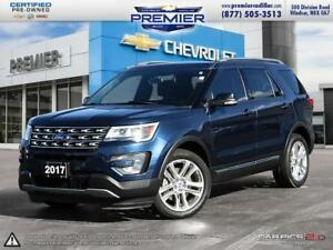 2017 Ford Explorer XLT - 4WD Leather, Navigation DVD and much mo