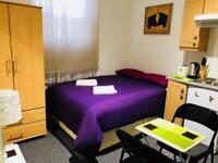 Private En-suite Studio Accommodation Log or Short