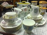 Vintage modernist tea set