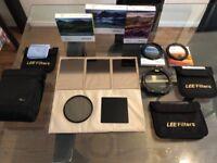 LEE Filters 100mm Complete kit Bundle + Lowepro S&F Filter Pouch Black