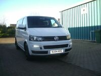 vw transporter t5 1.9tdi kombi,day van camper ready