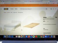 King size IKEA bed and mattress - good as new!!!
