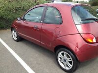 ford ka 2002 deluxe edition spare or repair failed mot healthy engine clean leather interior