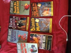 Selection of Anthony Horowitz books