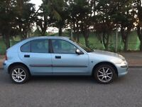 Rover 25 IL 16V for sale, key less starts, low mileage, Long MOT, drives really nice.