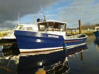 FISHING LEISURE BOAT FOR SALE