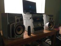 old school sony hifi system