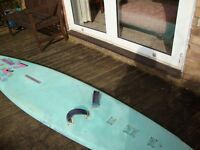Windsurfing Board. Junior, blue.