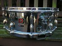 Premier Royal Ace snare drum, 10-lug CoB, circa 1959/60....