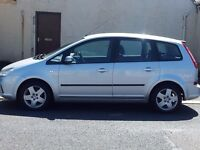 (57) ford focus 1.6 c-max style 5door mpv.petrol.manual.12 months mot/warranty included