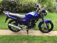 Wanted 125 geared motorcycle