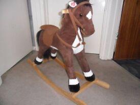 CHILDS ROCKING HORSE.