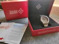 Red arrows hawk t1 official licensed watch