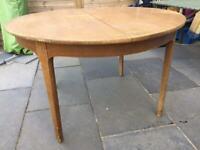 Mid century teak extending dining table 1960s