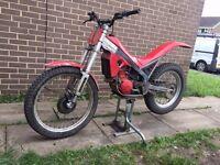 gas gas contact jt 250 trials bike not beta sherco montessa