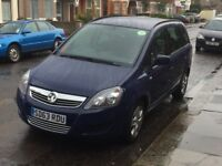 VAUXHALL ZAFIRA FOR HIRE FROM £100/WEEK, 1 WEEK FREE, LOW DEPOSIT