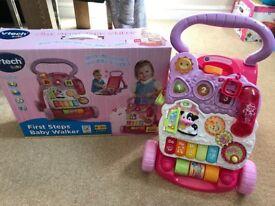 Vtech baby walker pink
