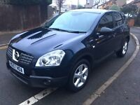 Nissan Qashqai Auto Diesel 2.0 Tekna Pan Glass Roof 4WD New Service & Brakes HPI Clear **BARGAIN**