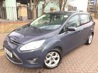 7 Seats MPV, Ford CMax 2014,14reg, Diesel, Manual gear, Low Mileage, PCO Ready,Galaxy,Sharan,Zafira