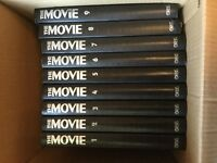 Collection of 108 The Movie - The Illustrated History of the Cinema bound in 9 volumes