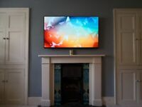 TV wall mounting and fitting