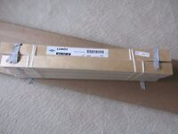 IKEA FJELLSE 4FT 6 INCH BED FRAME AND LOROY SLATS NEW IN BOX