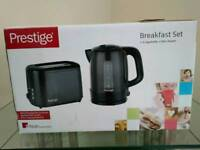 Prestige matching kettle and toaster set