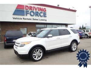 2013 Ford Explorer Limited w/Dual Panel Moonroof, Navigation