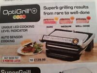 optigrill.hardly used and no room in my kitchen