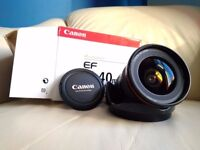 Canon 17-40mm f/4 L