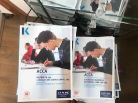 Acca Books - collection only!