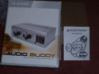 M Audio AudioBuddy Mic / Instrument PreAmp