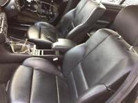 Bmw E46 M sport complete black leather interior front back seats & door cards saloon 3 series
