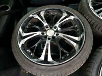 """18"""" Alloys with tyres"""