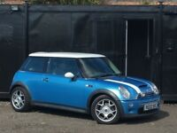 ★ MINI COOPER S 1.6L + HALF LEATHERS + 90K MILES + ALLOYS ★