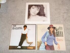 Kate Bush, Joan Armatrading, Carly Simon on superb, near-mint Vinyl Albums