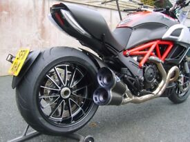 complete bodywork for a ducati diavel