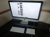 "iMac 27"", new hard drive, boxed, like new"