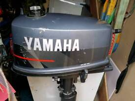 Yamaha 4/5hp Outboard engine
