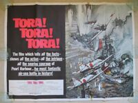 Tora ! Tora ! Tora ! Original British Quad Film Movie Cinema Poster